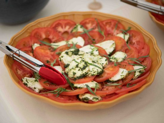 tomato and mozzerella salad